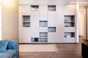 Zona Living Vismara interior design - Paderno Dugnano