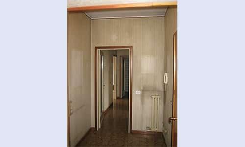 Progetto Rosso mattone - Vismara architettura d'interni - Paderno Dugnano